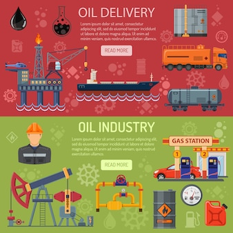 Баннеры нефтяной промышленности