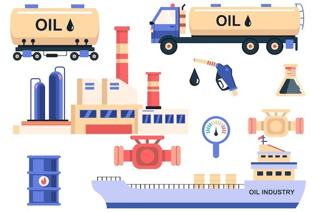 석유 산업 격리 요소 집합 유조선 저장 및 선박 운송의 번들
