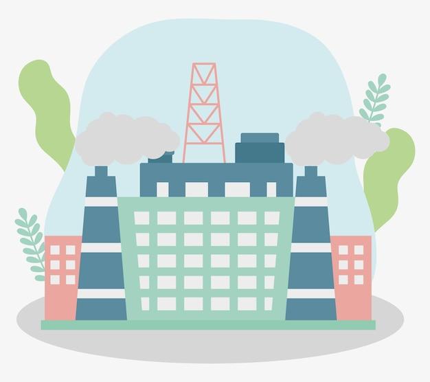 Иллюстрация масличного завода