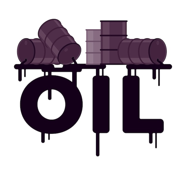 배럴에서 단어로 기름 유출