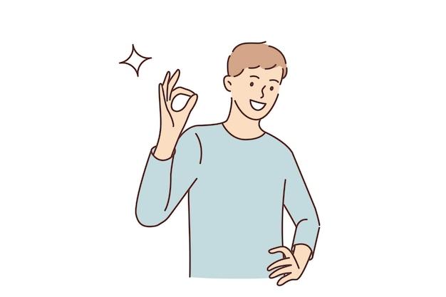 Хорошо концепция языка жестов и жестов