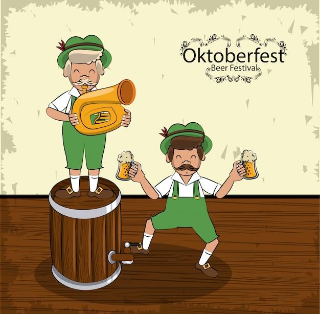 Oktober festival concept