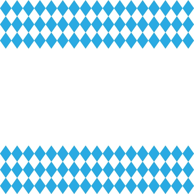 옥토버페스트와 바이에른 국기 패턴입니다. 벡터