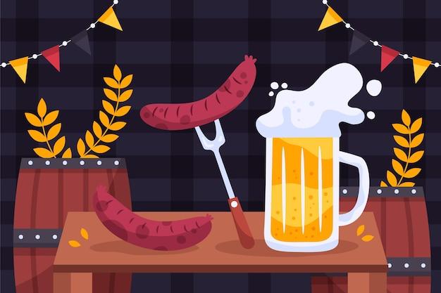 Oktoberfest background