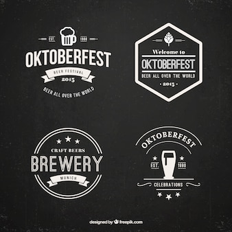 Oktoberfest badge set