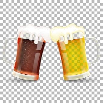 Концепция фестиваля пива октоберфест