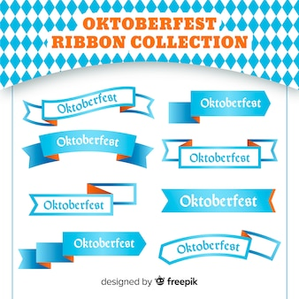 Oktoberfest blue ribbons collection