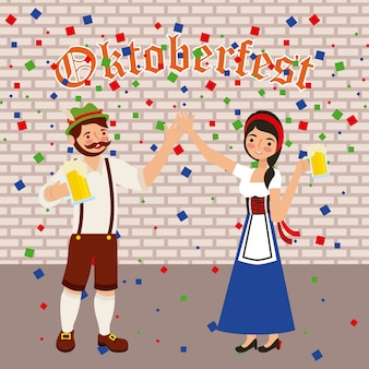 Oktoberfest celebration festival