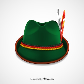 Oktoberfest classic hat background