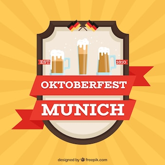 Oktoberfest concept background