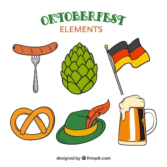 Oktoberfest, elements for the event