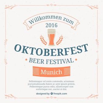 Oktoberfest en monaco di baviera