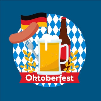 Tema dell'evento dell'oktoberfest