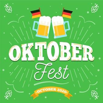 Oktoberfest festival lettering