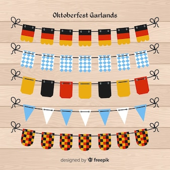 Oktoberfest garland collection
