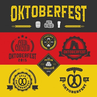 Oktoberfest logos collection