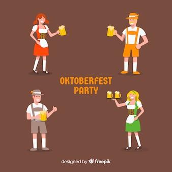 Oktoberfest party people