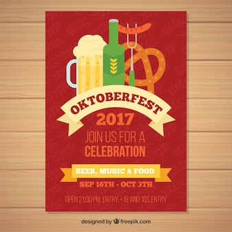 Oktoberfest party with german products