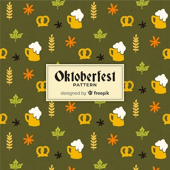 Oktoberfest pattern background