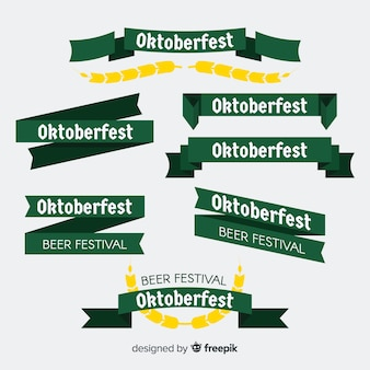 Oktoberfest ribbon or garland collection