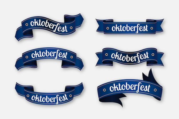 Oktoberfest ribbons pack