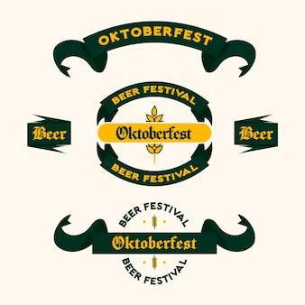Set di nastri dell'oktoberfest