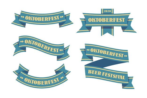 Oktoberfest ribbons set