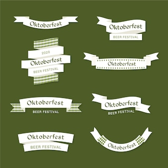 Oktoberfest ribbons template