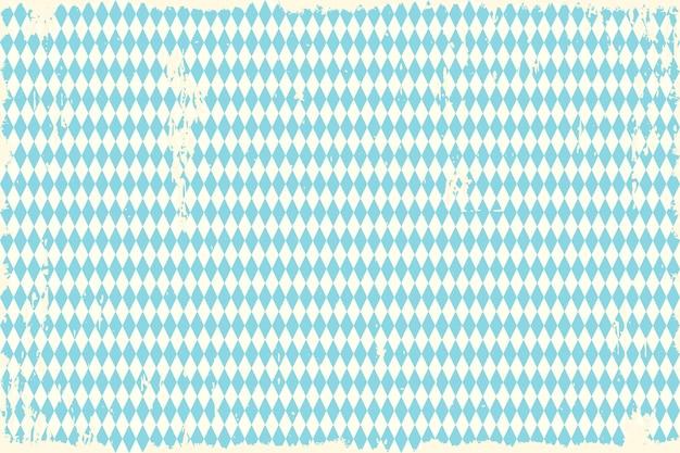 Oktoberfest vintage blue checkered background