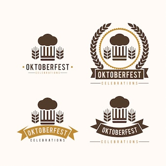 Oktoberfest vintage logo