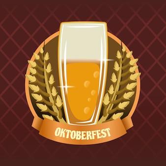 Oktoberfest with beer