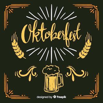 Прекрасная композиция oktoberfest с доской