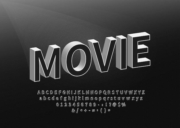 Old black title font on textured background