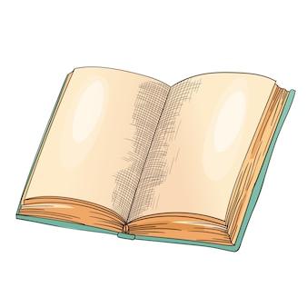白で隔離の古い本