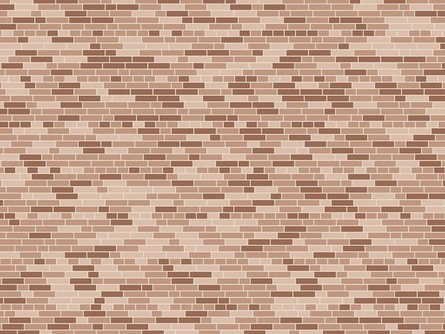 Old brick wall background. vector brick wall texture
