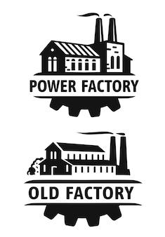 Old factory black emblem.