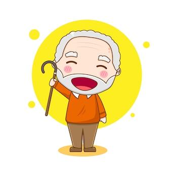 老人のキャラクター