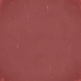 Old marsala scratched card with halftone gradient