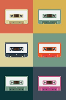 Old music tape simplicity