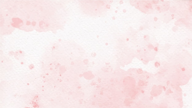Old rose pink colorful watercolor splash on paper background