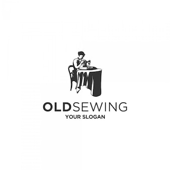 Old sewing logo