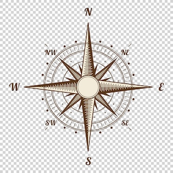 Old style vector compass