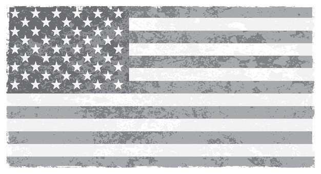 Old united states flag