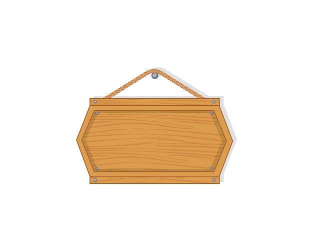 古い西の空の木の板。釘と空の木の板