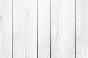 Old white wood texture background vector
