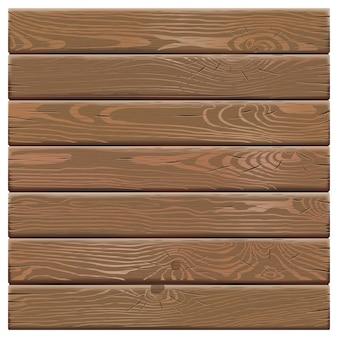 白い背景上に分離されて古い木の板