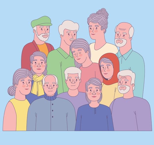 노인 그룹