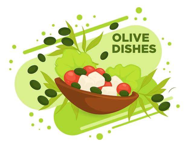 Блюда из оливок, здоровая диета и диетическое питание
