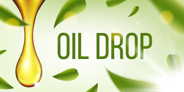 Olive fuel liquid, oil drop, sparkling collagen.