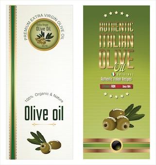 Olive golden banner collection